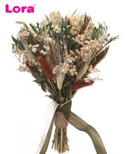 Kuru Çiçekli Gelin Buketi - 41041