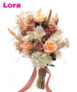 Kuru Çiçekli Gelin Buketi - 41043