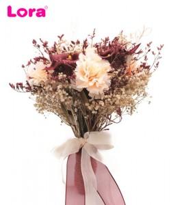 Kuru Çiçekli Gelin Buketi - 41050