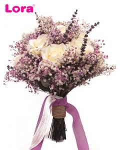 Kuru Çiçekli Gelin Buketi - 41051