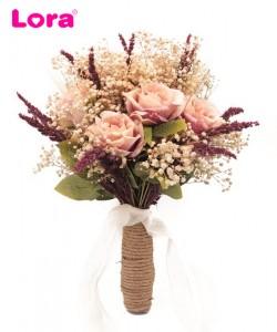 Kuru Çiçekli Gelin Buketi - 41052