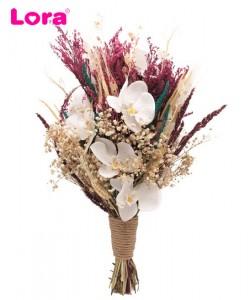 Kuru Çiçekli Gelin Buketi - 41053