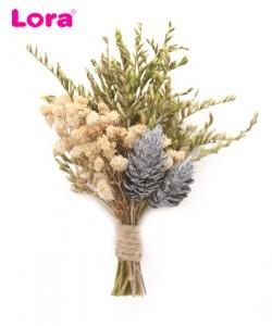 Kuru Çiçekli Yaka Çiçeği - 42049