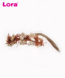 Kuru Çiçekli Gelin Tacı - 56327