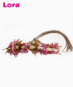 Kuru Çiçekli Gelin Tacı - 56329