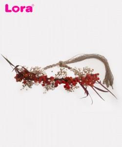 Kuru Çiçekli Gelin Tacı - 56330