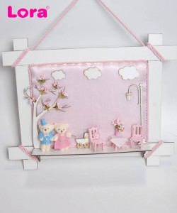 Kız Bebek Kapı Süsü - 74620