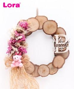 Kuru Çiçekli Kapı Süsleri - 75501