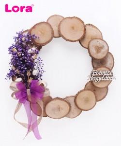 Kuru Çiçekli Kapı Süsleri - 75504