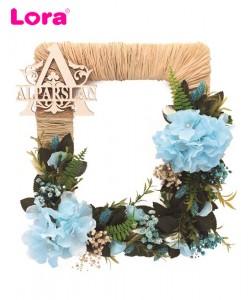 Kuru Çiçekli Kapı Süsleri - 75520