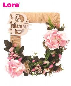 Kuru Çiçekli Kapı Süsleri - 75521