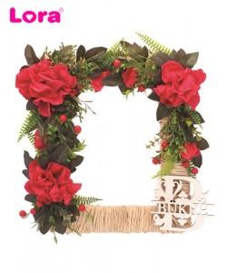 Kuru Çiçekli Kapı Süsleri - 75522