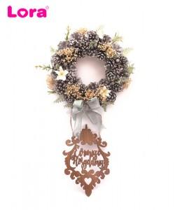 Kuru Çiçekli Kapı Süsleri - 75526
