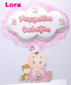 Kız Bebek Kapı Süsü - 75601