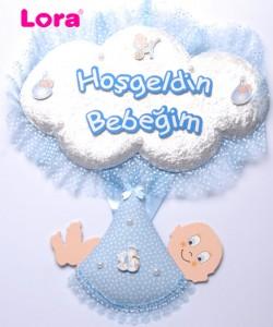 Erkek Bebek Kapı Süsü - 75602