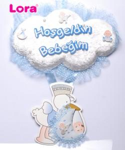 Erkek Bebek Kapı Süsü - 75606