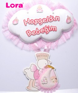 Kız Bebek Kapı Süsü - 75607
