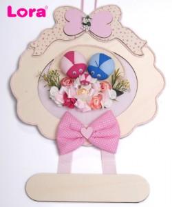 Kız Bebek Kapı Süsü - 75642