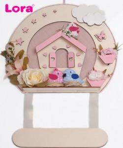 Kız Bebek Kapı Süsü - 75646