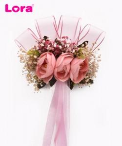 Kuru Çiçekli Bohça Süsleri - 88401