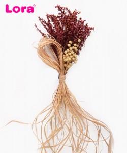 Kuru Çiçekli Bohça Süsleri - 88402