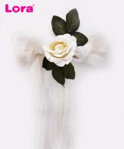 Yapay Çiçekli Bohça Süsleri - 88409