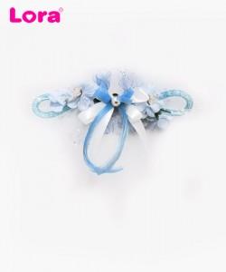 Yapay Çiçekli Bohça Süsleri - 88410