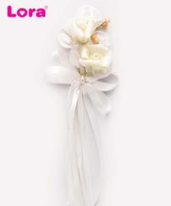 Yapay Çiçekli Bohça Süsleri - 88412