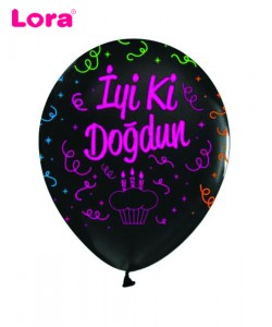 Baskılı Balon Çeşitleri - 98445