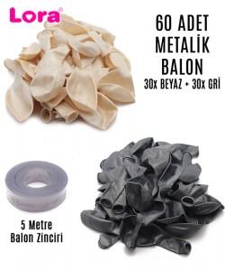 Metalik Balon Çeşitleri - 99248