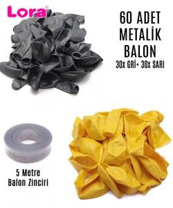 Metalik Balon Çeşitleri - 99275