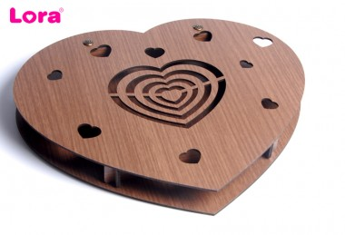 Sevgiliye Özel Ahşap Kutu - 89048